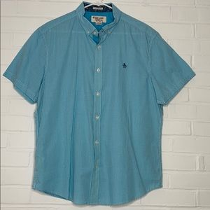 Original Penguin short sleeve button shirt
